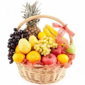 Корзина с фруктами R325